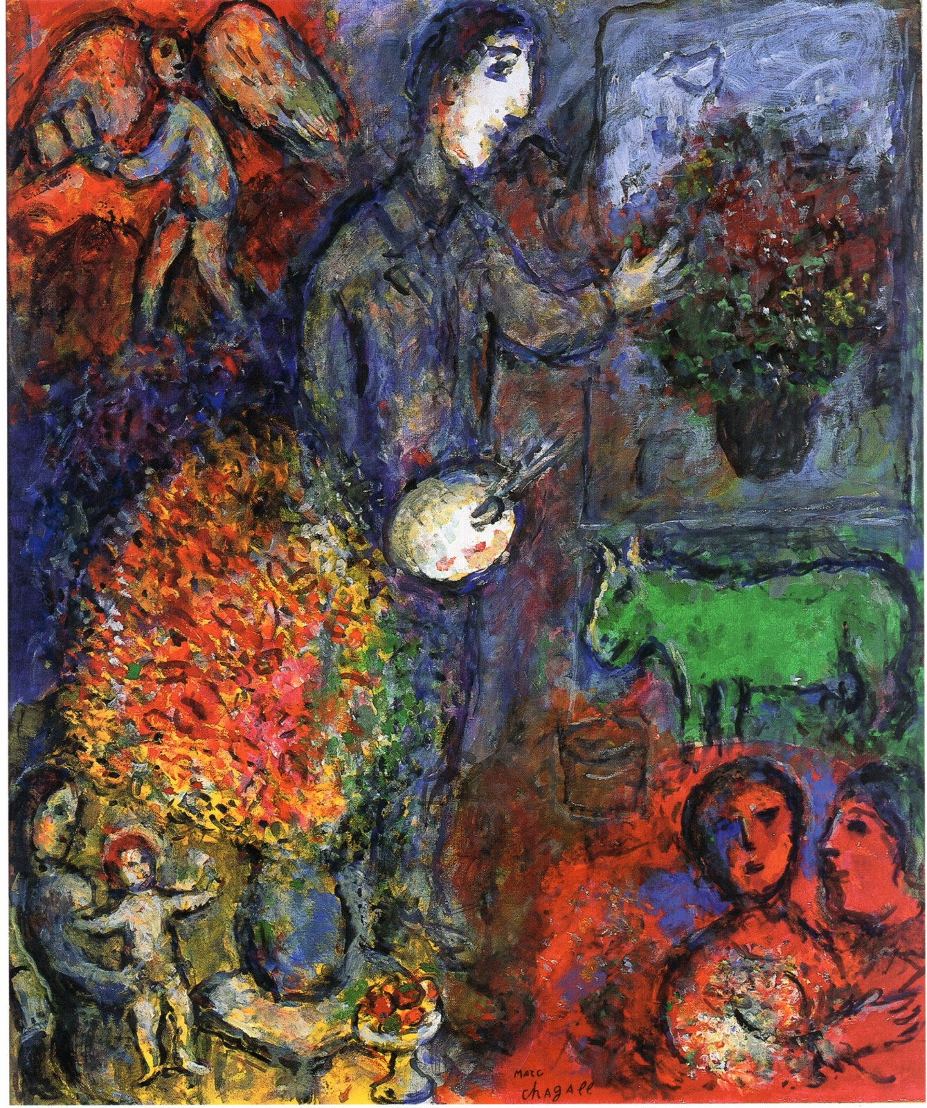 Chagall marc 3 for Chagall peintre